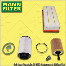 SERVICE KIT for VW GOLF MK5 (1K) 1.9 TDI MANN OIL AIR FUEL FILTERS (2004-2006)