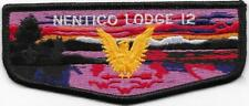 S10 Nentico Lodge 12 Order of the Arrow OA Flap Boy Scouts of America BSA