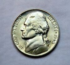 1943-D silver Jefferson Nickel__BU / MS__part of whole set listed