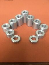 12 OFF - Custom Made Aluminium Spacers - 22mm x 19mm & 17.5mm x 12mm hole