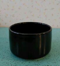 Rare Georges Briard Pottery Small Bowl Black Stone Ware Square Handles Mcm