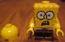 SpongeBob SquarePants LEGO ACTION FIGURE Shocked Look SPONGE BOB SQUARE PANTS