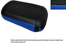 Royal Blue & Negro Custom encaja Honda Vtx 1800 02-04 Trasera de piel cubierta de asiento