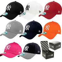 NEW ERA CAPS 9FORTY CAPS - NEW ERA HATS ADJUSTABLE BASEBALL HATS (BRAND NEW)