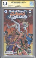Harley Quinn & Her Gang of Harleys 4 CGC SS 9.8 Jimmy Palmiotti Amanda Conner