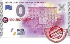Billet Touristique 0 Euro 2015 - Musée Océanographique de Monaco