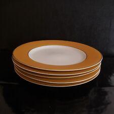 5 assiettes porcelaine SARAH création modèle Tendance art déco PN France N2873