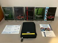 2012 Ford Mustang Genuine OEM Owner's Manual Set w/Ford Case--Free Shipping!