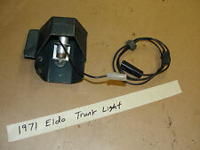 71 Cadillac Eldorado GM VINTAGE TRUNK LIGHT w WIRING HARNESS & MOUNTING BRACKET