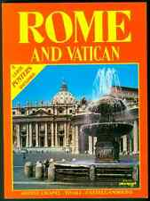 PLURIGRAF ROME AND VATICAN 2 LARGE POSTERS INCLUDED 1990 ITALY SISTINE CHAPEL +