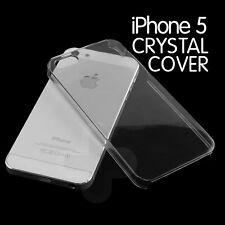 Ultra thin Clear Crystal Transparent Case for iPhone 5S 5