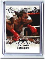 2010 RINGSIDE BOXING #73 Lennox Lewis Onyx 1/1