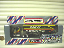 MATCHBOX 1983 CY9A MOVING IN NEW DIRECTIONS KENWORTH BOX TRUCK CONVOY MINT BOXD*