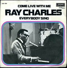 7inch RAY CHARLES come live with me HOLLAND +PS EX