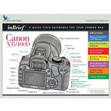 New in Brief Canon XTI/400D  Blue Crane inBrief XTi/400D Quick Reference Guide