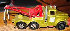 MATCHBOX SUPER KINGS SCAMMEL HEAVY WRECK TRUCK ESSO Made In England LESNEY