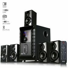 Truvison SE-6055 5.1Multimedia Speaker with USB FM AUX MMC Refurbished