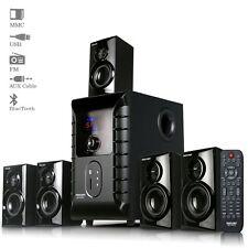 Truvison SE-6055 5.1Multimedia Speaker with USB FM AUX MMC Refurbished