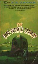 THE RIM WORLD LEGACY By FA JAVOR Signet PB 1967 1967 1st