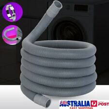 2.5M Universal Washing Machine Dishwasher Drain Hose Pipe Flexible Extension Kit