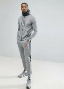 Nike Air Full Tracksuit ASOS Grey Mens Hoodie Jogger Limited Edition