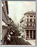 Italie, Milano, Corso Vittorio Emanuele  Vintage albumen print.  Tirage albumi
