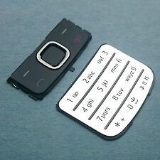 100% Originale Nokia 6700 Classic Tastiera Set Argento Cromato numerica + superiore del menu 6700c