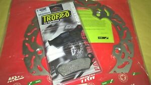 kit disco freno TRW posteriore + pastiglie BMW R 850 1100 1150 GS RT RS R1100GS