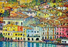 Gustav Klimt Malcena at the Gardasee Art Print Poster - 19x13