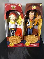 Toy Story Rare Disney Woody & Jessie Dolls Unused