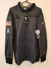 Nike Salute to Service Hoodie 2016 2xl XXL Carolina Panthers 3337d8ac8