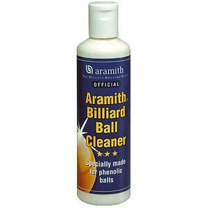 ARAMITH POOL, SNOOKER & BILLIARDS TABLES 250 ml Bottle of BALLS CLEANER ( Blue )