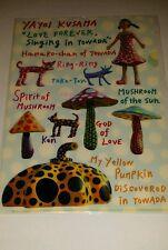 YAYOI KUSAMA 'LOVE FOREVER Singing in TOWADA' mushroom & pumpkin Plastic Folder