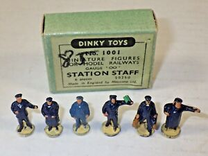 DINKY TOYS HORNBY DUPLO 1001 STATION STAFF BOXED OO GUAGE IN EXCELLENT CONDITION