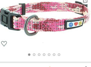 PAWTITAS CAMOUFLAGE PATTERN DOG ACCESSORIES Pink Camo Large Collar