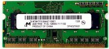Micron 4 GB 1Rx8 PC3L 12800 S MT8KTF51264HZ-1G6J1 LAPTOP NOTEBOOK MEMORIA RAM 17