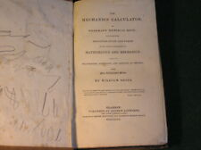 The Mechanics' Calculator by William Grier 1832 MIllwrights Engineers & Artisans