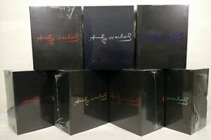 """All Seven (7) Kidrobot Andy Warhol 8"""" Dunny Masterpiece Figures SEALED NEW!"""