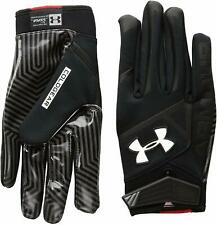 Under Armour Men's UA Playoff ColdGear II NFL Football Gloves 1260679 Black XL
