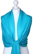New 100% Pure Pashmina Shawl Wrap Ladies Diamond Weave Cashmere Bridal Wrap Gift