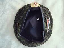 Russian  Airborne Spetsnaz camo beret with 3 badge. Russia. Size 58 and 59