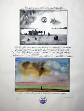 Saul Steinberg 1974 Signed Lithograph Limited Edition