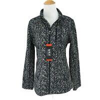 Marc New York Jacket Women's Size M Lightweight Full Zip Thermal Insulation Gray