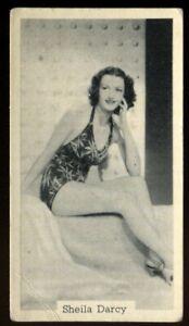 Tobacco Card, Murray Sons, BATHING BELLES, 1939, Sheila Darcy, #16