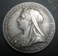MEDAILLE REINE VICTORIA 1837-1897 - 60 ANS DE REGNE - Argent