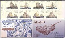 Aland 1995 Cargo Sailing Ships/Boats/Nautical/Sail/Transport 8v bklt (n41572)