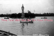 CH 87 - The Lake, Belle Vue, Manchester, Cheshire - 6x4 Photo