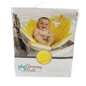 NEW!! Blooming Bath Original Baby Bath Washable Bathing Mat Flower Bath Yellow