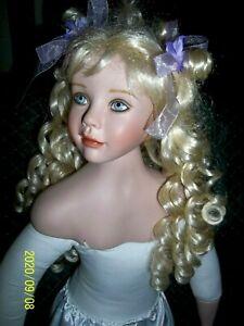PAT DEZINSKI. Porcelain Doll (34 Inches)