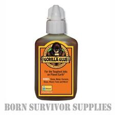 GORILLA GLUE 60ml BOTTLE - Super Strength Adhesive Wood Metal Ceramic Stone Foam